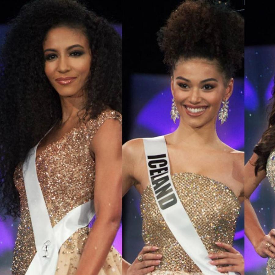 Miss Estados Unidos, Miss Islandia, Miss Perú, Miss México, Miss Universo 2019