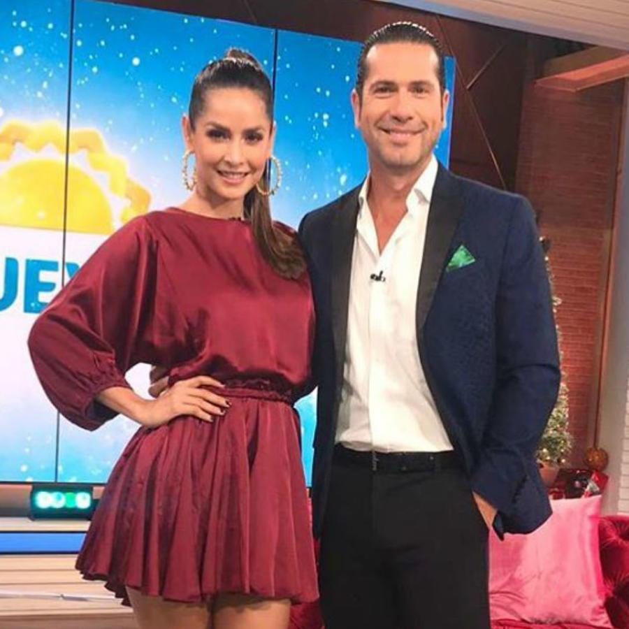 Gregorio Pernía y Carmen Villalobos