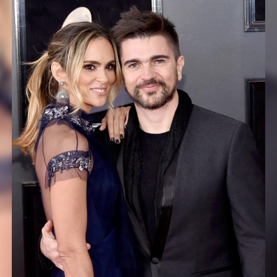 Juanes y su esposa Karen Martínez