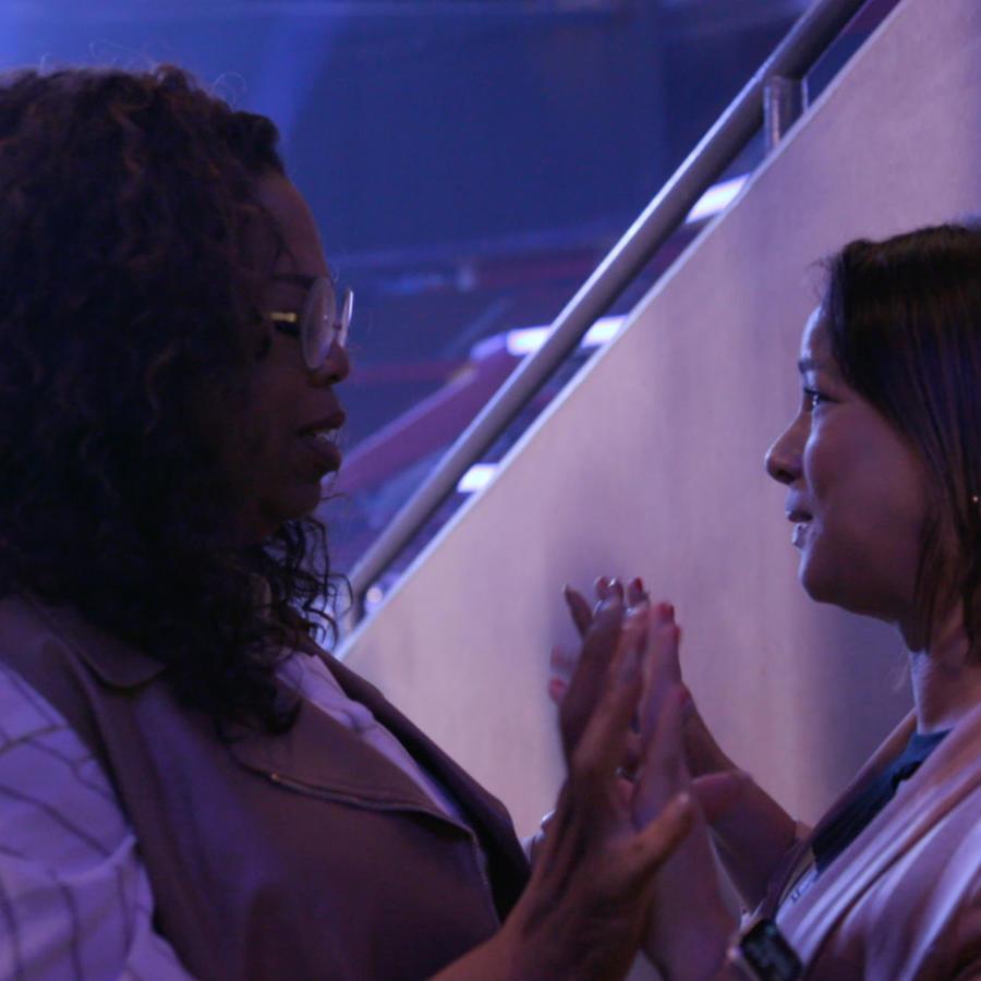 Adamari López y Oprah