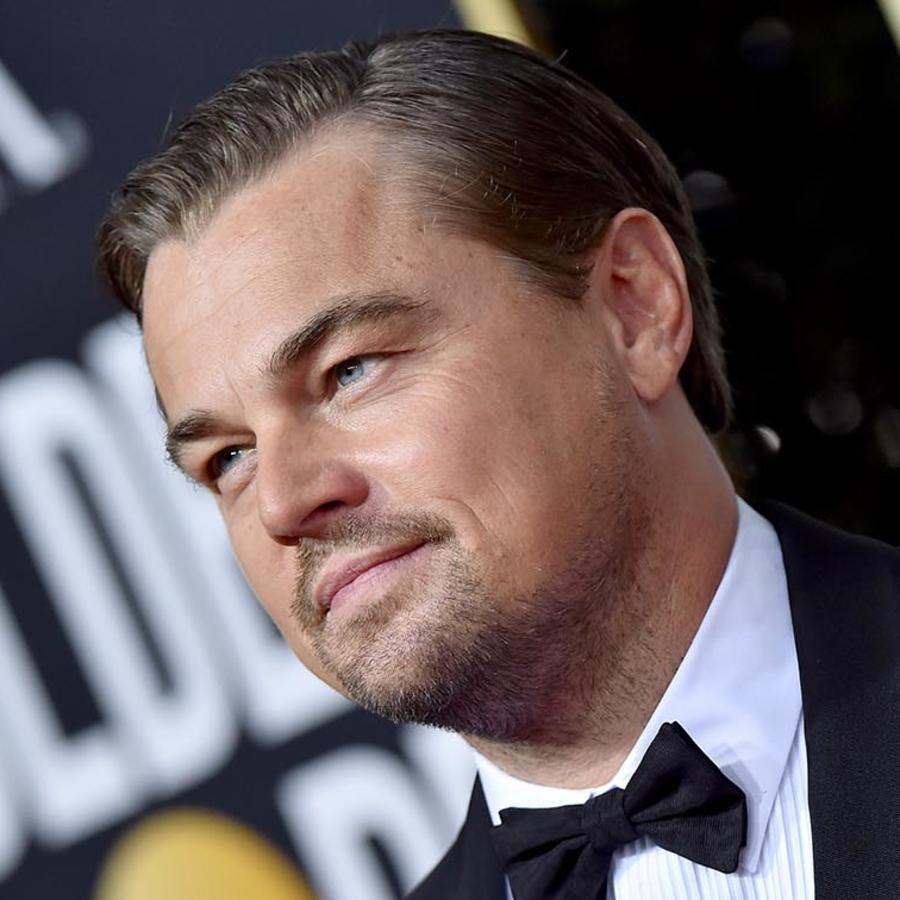 Leonardo DiCaprio en los Golden Globes 2020