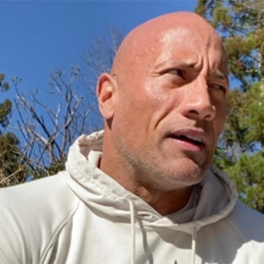 "Dwayne ""The Rock"" Johnson video IG"