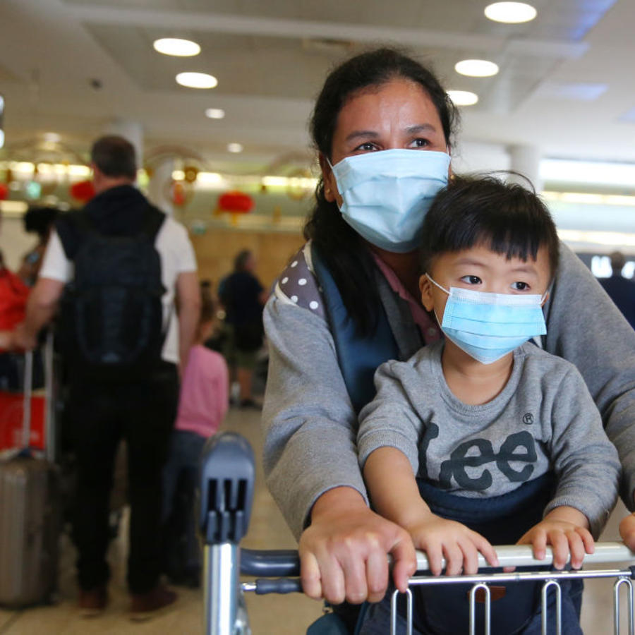 Flight From Wuhan Arrives In Sydney After Chinese Authorities Shut Down Transport Networks Over Coronavirus