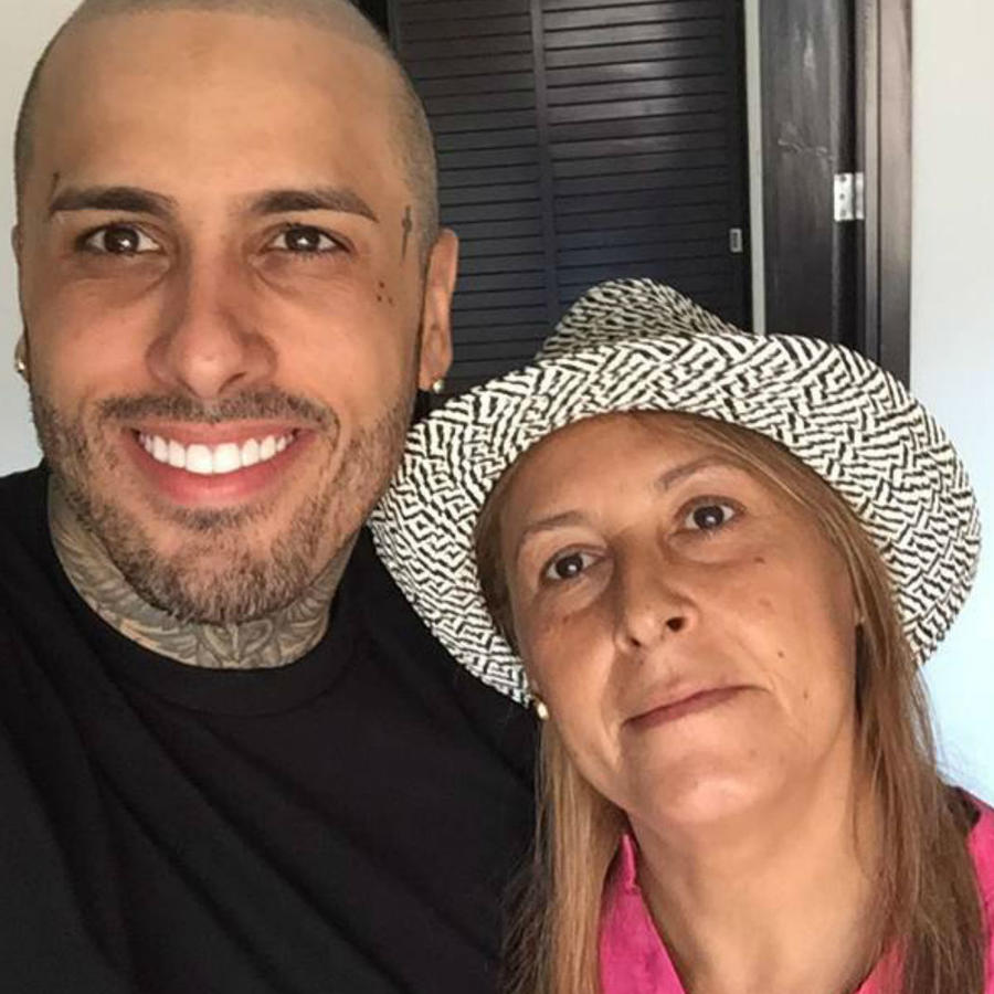 Nicky Jam y su mamá