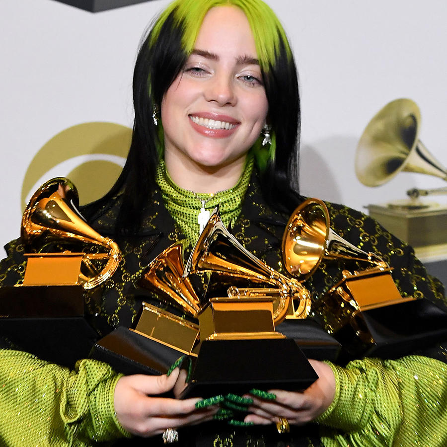 Billie Eilish Makes History at the Grammy Awards With Four Major Wins