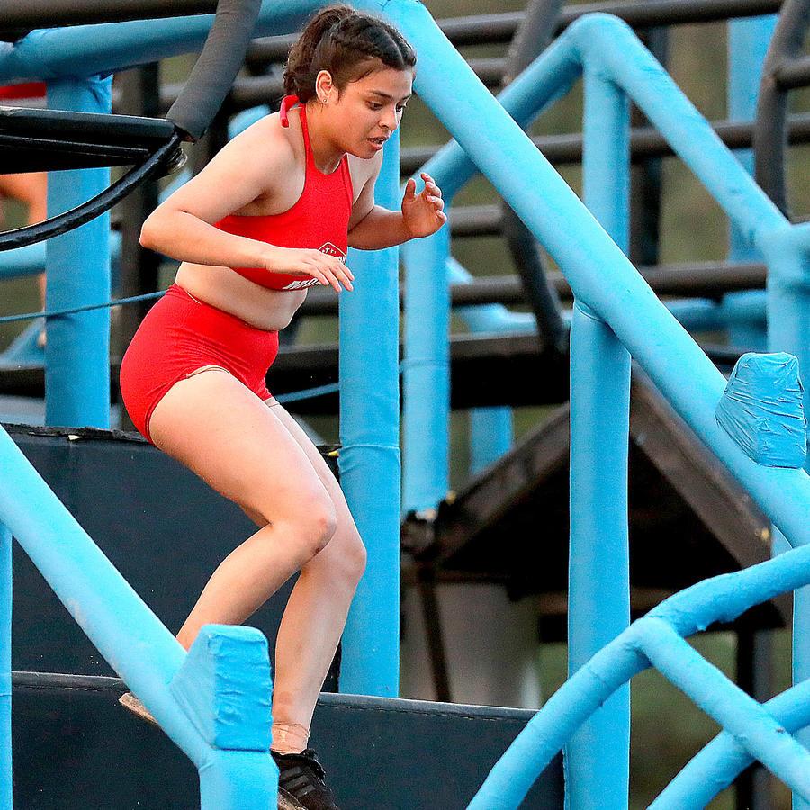 Mónica Márquez en el circuito de eliminación