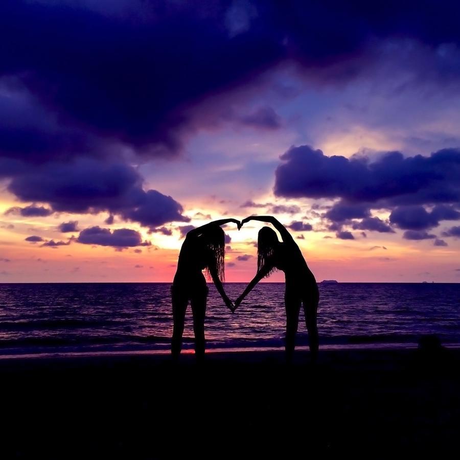 Atardecer de amor