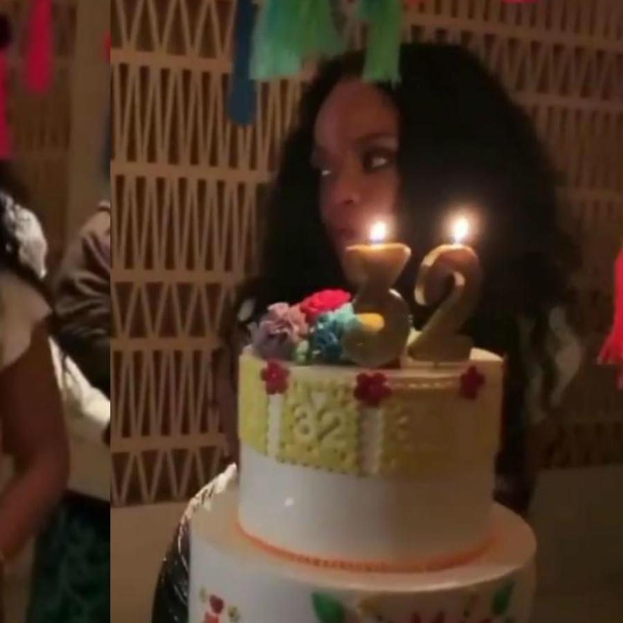 Rihanna celebra su cumpleaños en México