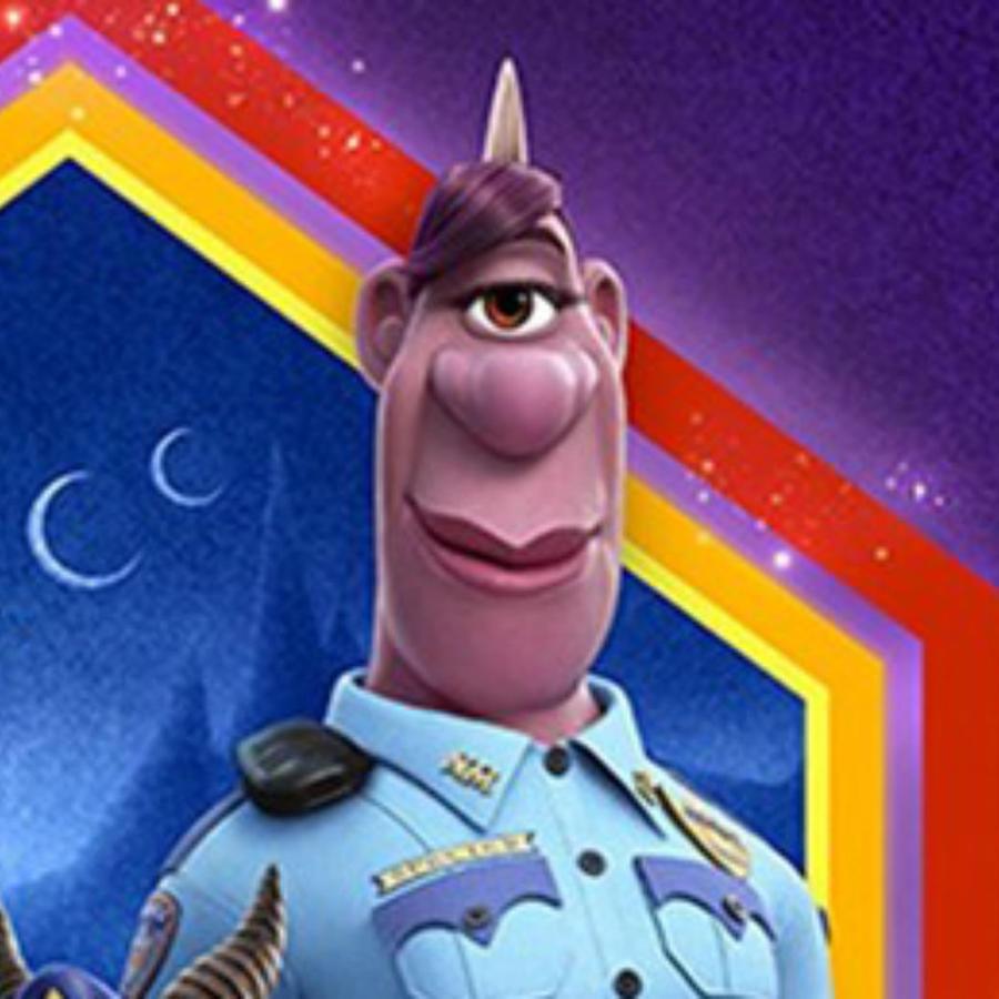 "Officer Specter, policía lesbiana de ""Onward"", de Disney Pixar"