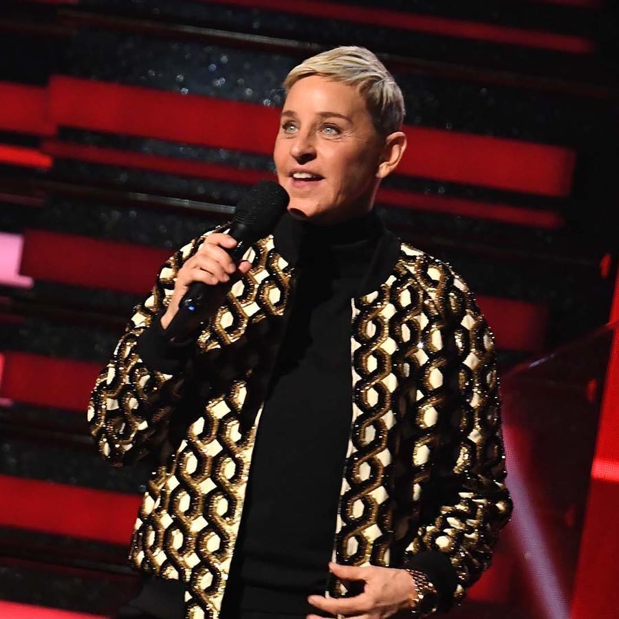 Ellen DeGeneres  en la 62nd Annual Grammy Awards