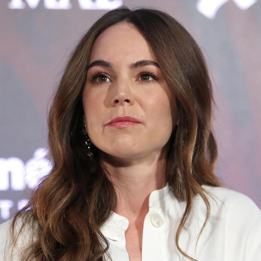 """Camila Sodi en la conferencia de prensa de la película """"La Herencia del Mal"""""""