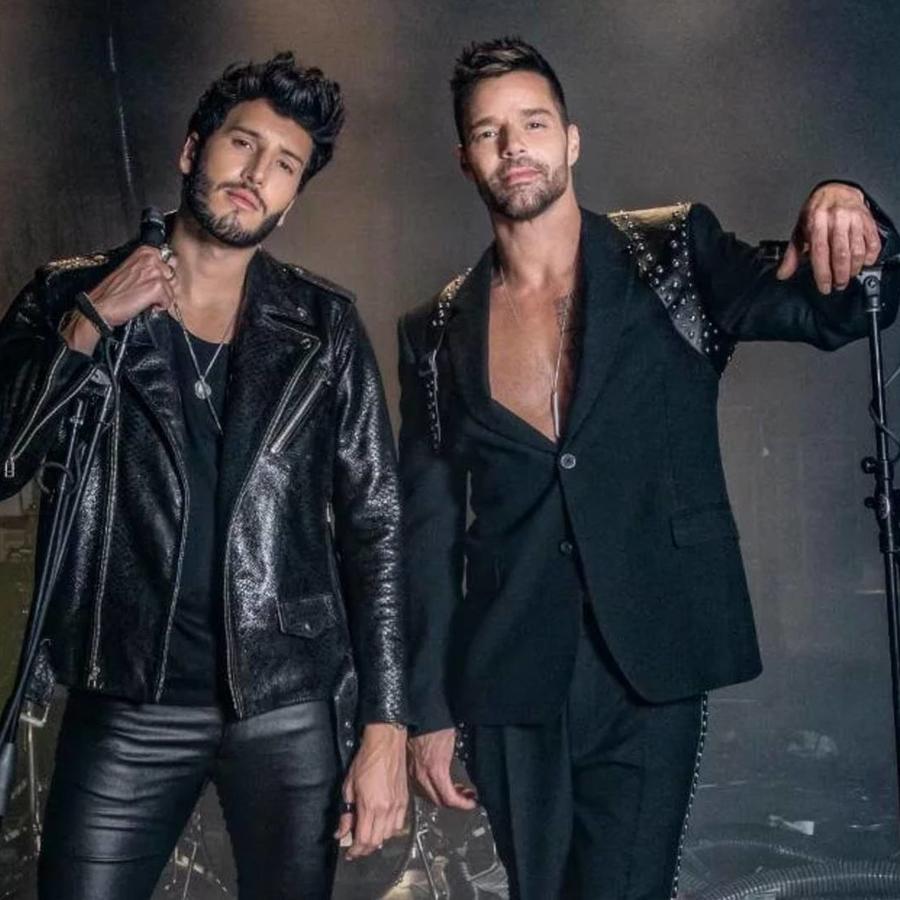 Sebastián Yatra con Ricky Martin