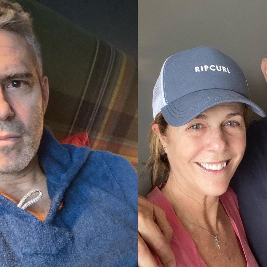 Andy Cohen, Tom Hanks, Rita Wilson