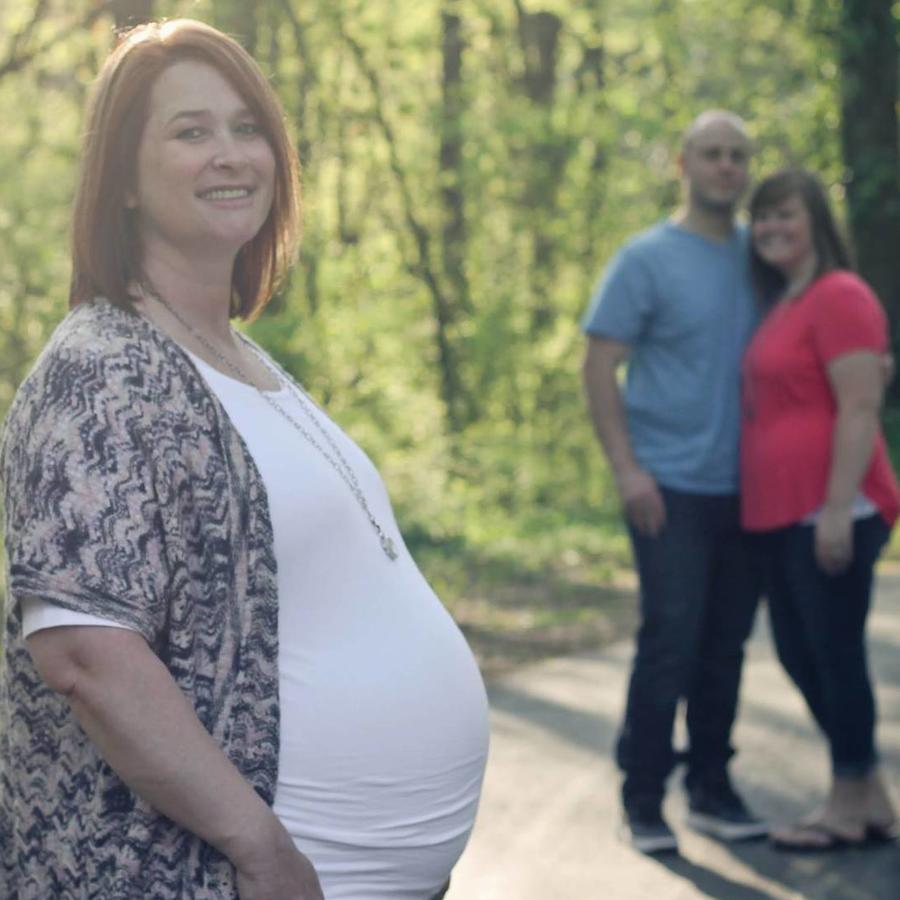Sheila Gump, embarazada con los mellizos de su hija