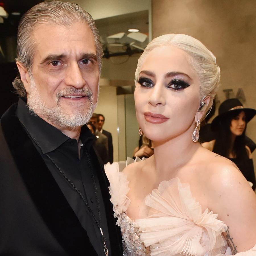 Lady Gaga y su papá