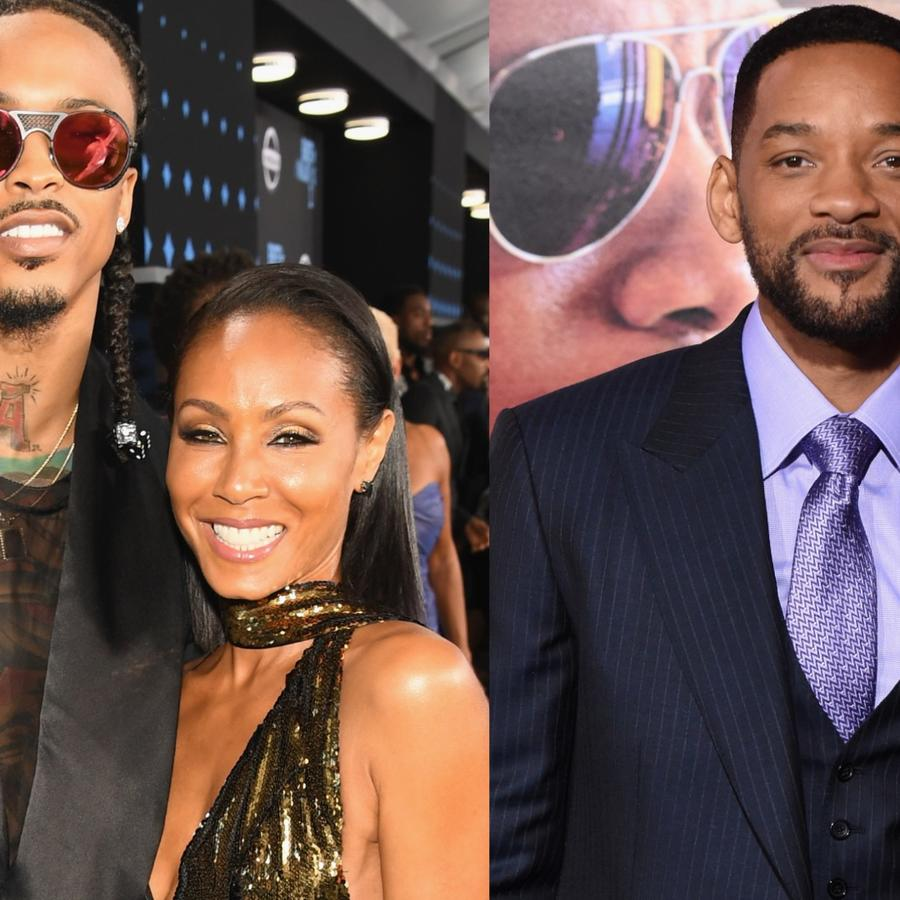 Jada Pinkett Smith, Will Smith, August Alsina
