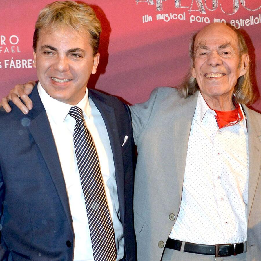 """Cristian Castro y Manuel """"El Loco"""" Valdés"""
