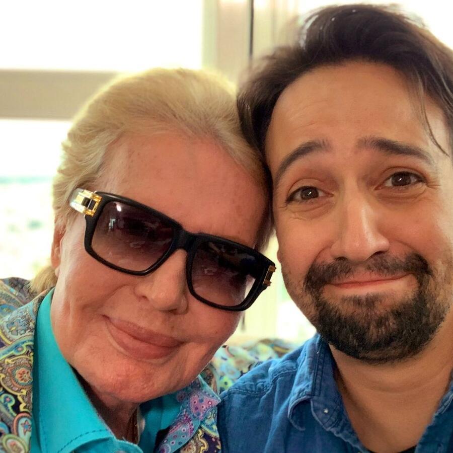 Walter Mercado y Lin-Manuel Miranda