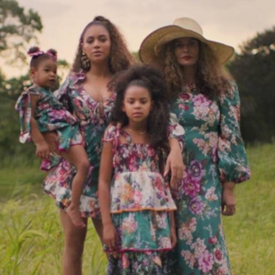 Beyoncé y Blue Ivy Carter en Black Is King