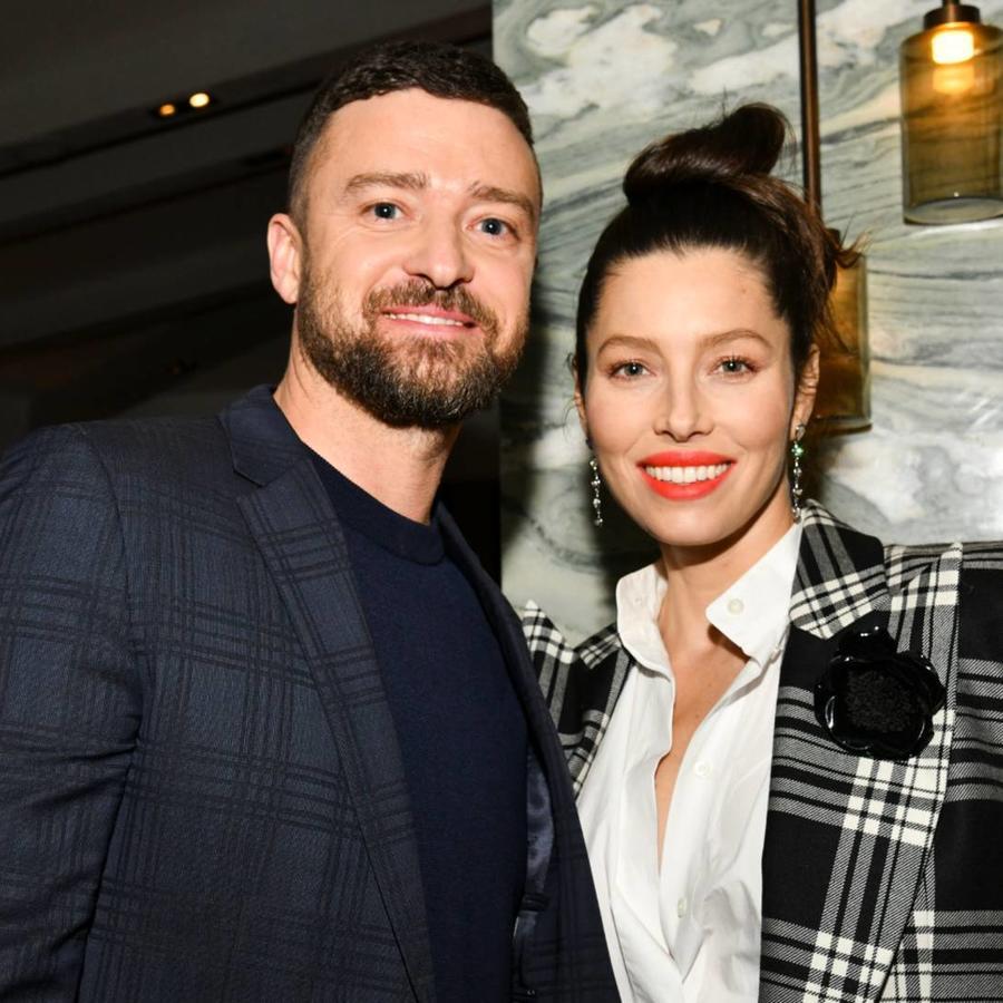 """Justin Timberlake y Jessica Biel en la premiere de """"The Sinner"""", febrero 2020"""
