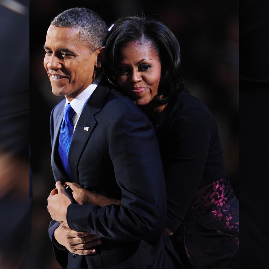 Barack Obama y Michelle Obama, discurso inaugural, 2012