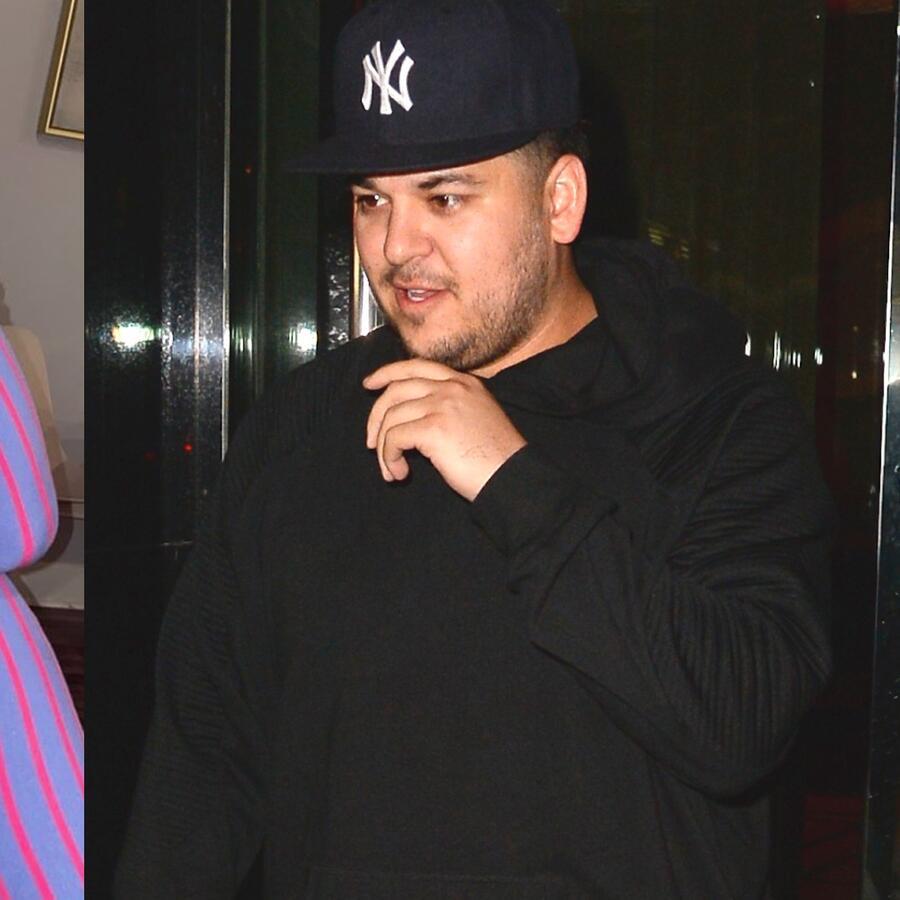 Rob Kardashian y Aileen Gisselle