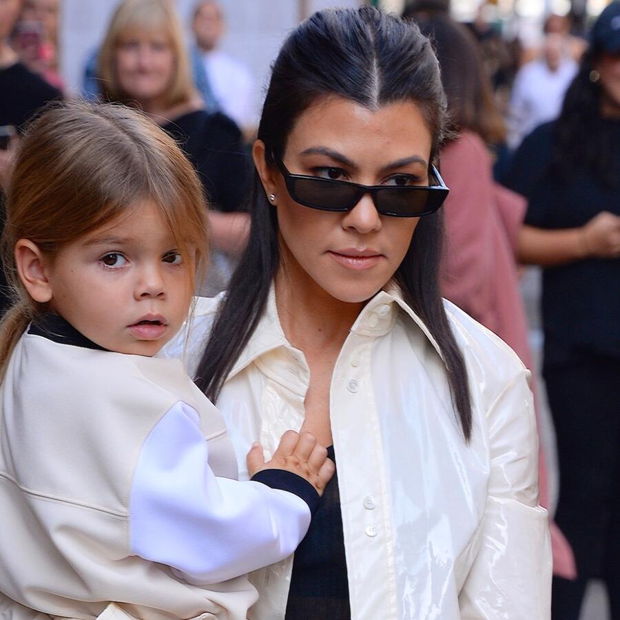Kourtney Kardashian y Reign Disick