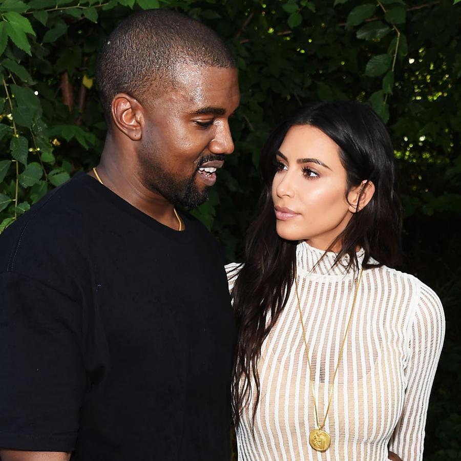 Kanye West y Kim Kardashian Nueva York 2016