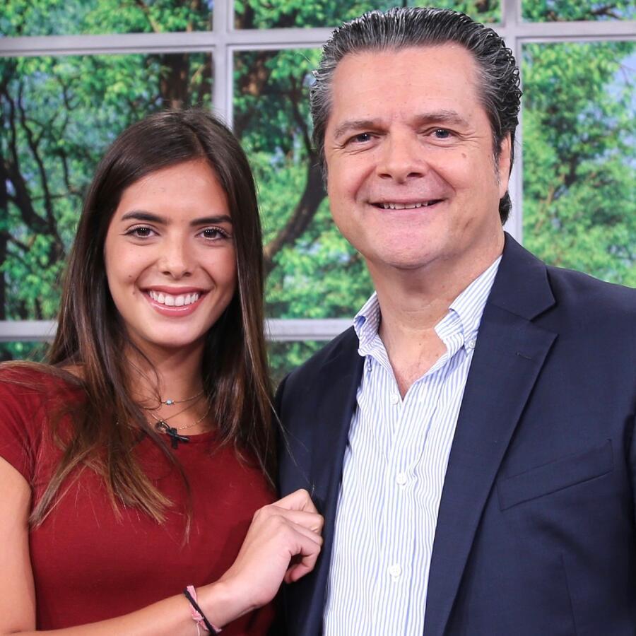 María Levy y Ariel López Padilla