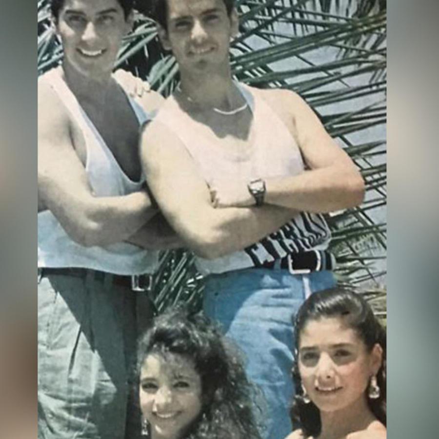 Xavier Ortiz y Patricia Manterola en Garibaldi