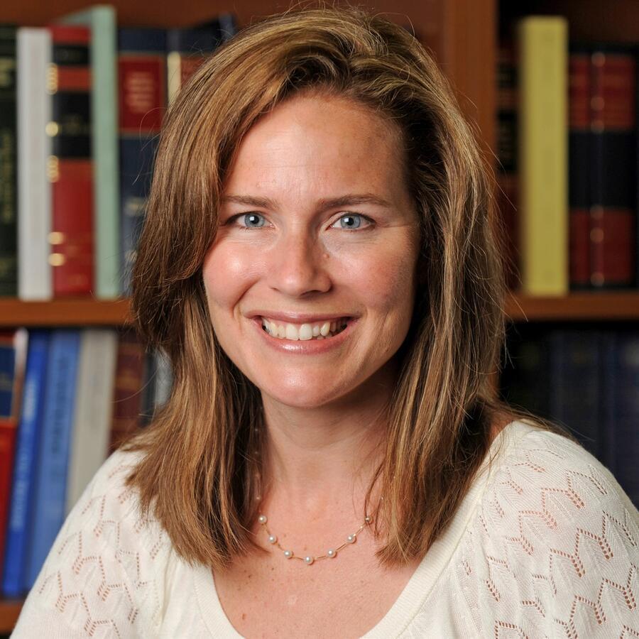 La jueza Amy Coney Barrett