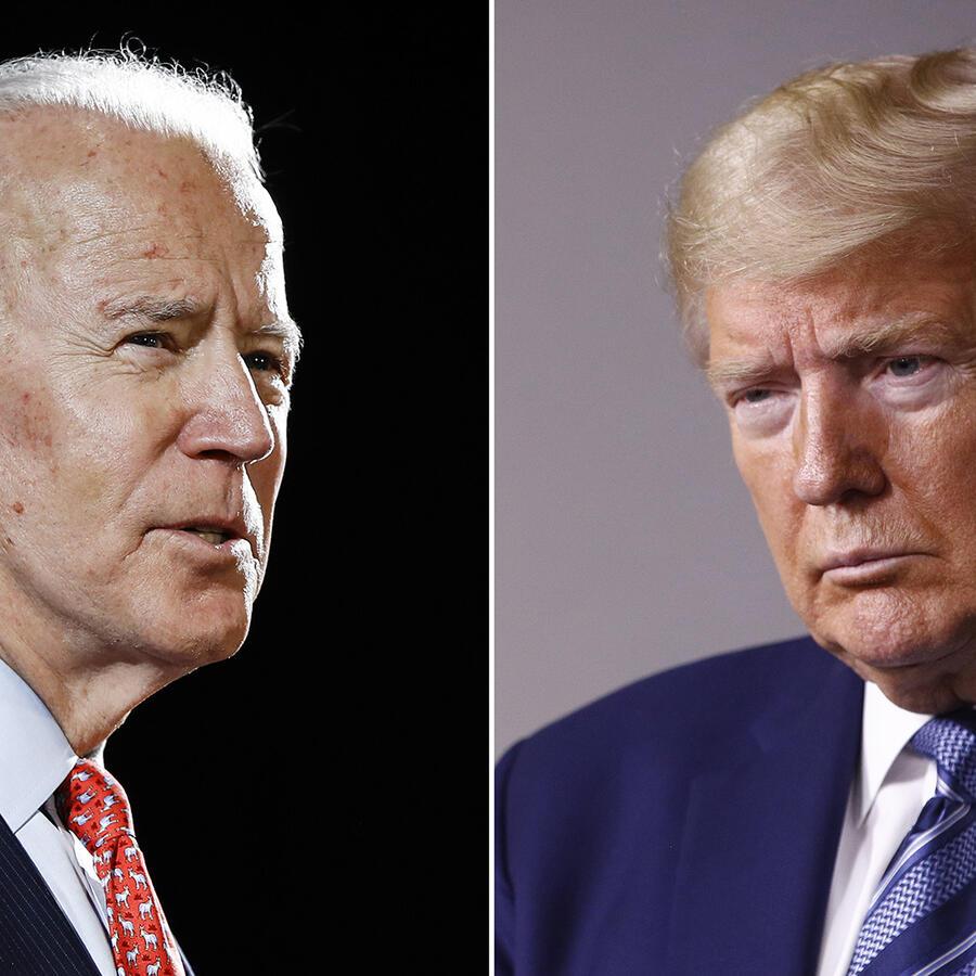 Joe Biden y Donald Trumo se enfrentan esta noche en el primer debate presidencial.