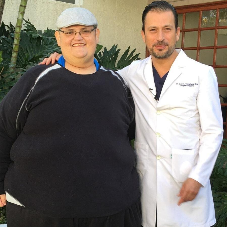 Juan Pedro Franco Salas y el doctor José Antonio Castañeda. México, 2019