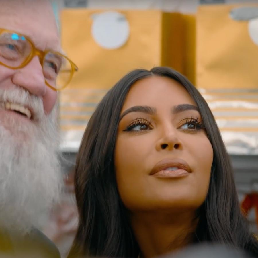 Kim Kardashian hizo fuertes revelaciones sobre su vida con David Letterman