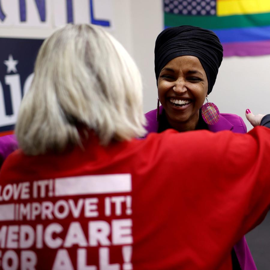 Desde 2019, Ilhan Omar representa en el Congreso al distrito 5 de Minnesota.
