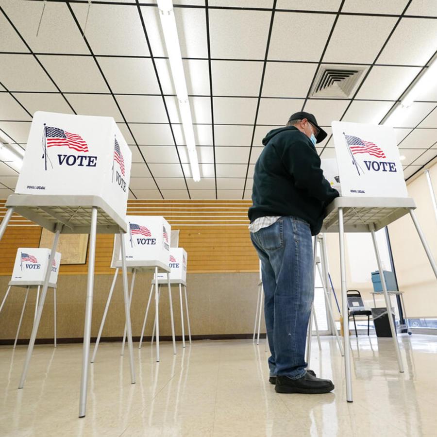 Voto elecciones presidenciales