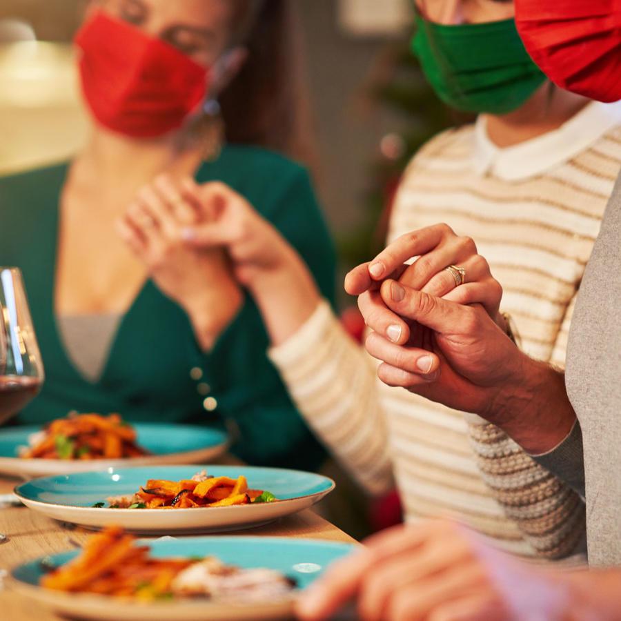Cena de Acción de Gracias en medio de la pandemia por COVID-19