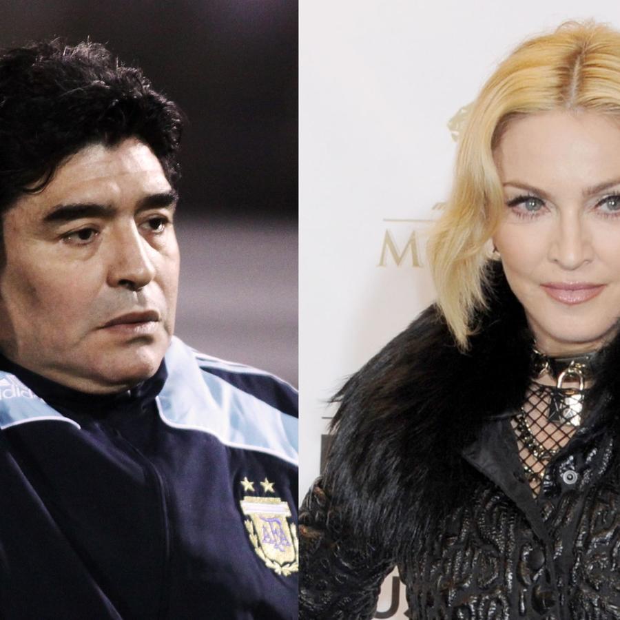 Madonna, Diego Armando Maradonna