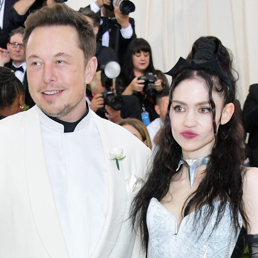 Elon Musk and Grimes Nueva York 2018