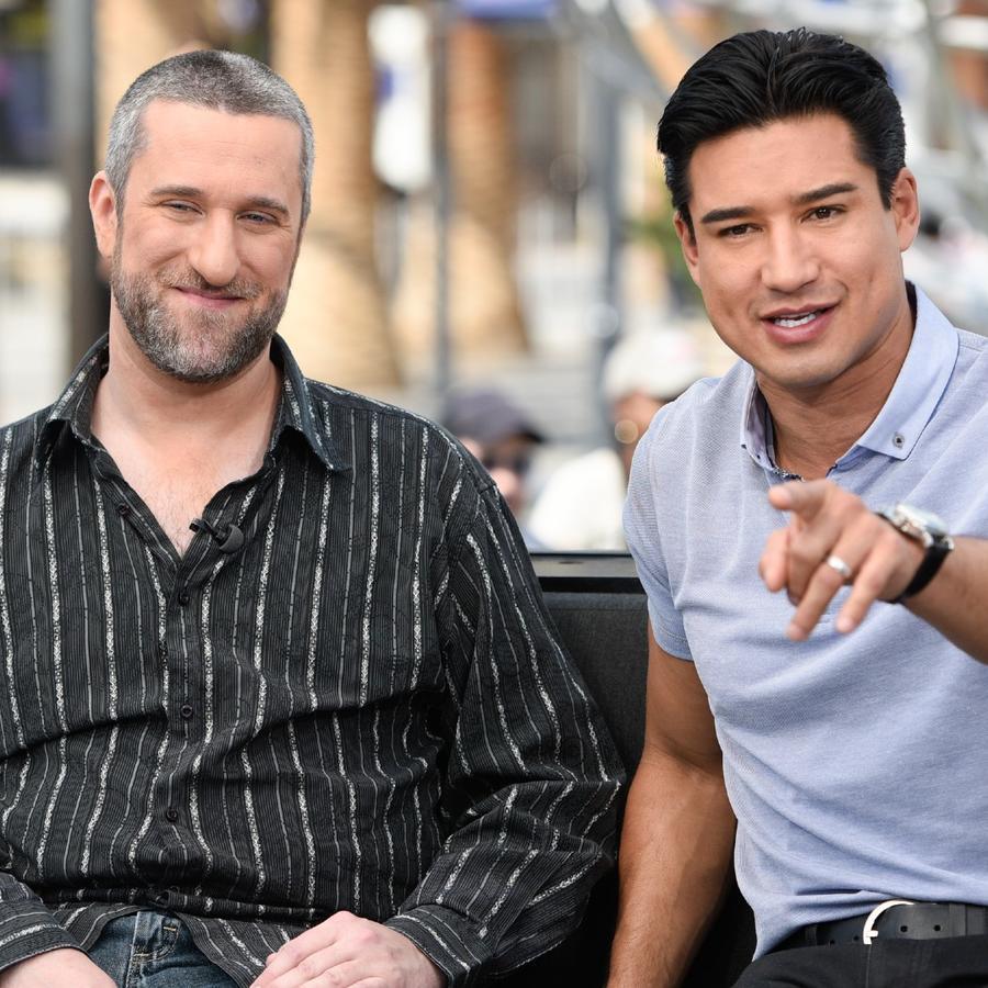 Dustin Diamond y Mario Lopez