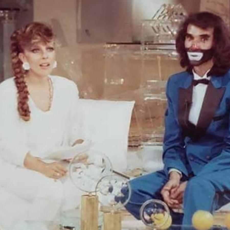 Cepillín y Verónica Castro