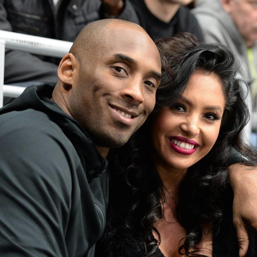 Vanessa y Kobe Bryant California 2016