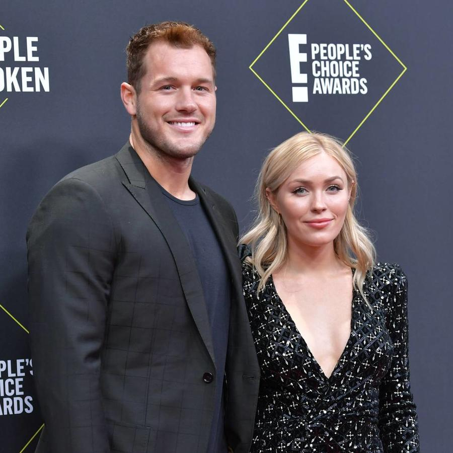 Colton Underwood y Cassie Randolph en los E! People's Choice Awards