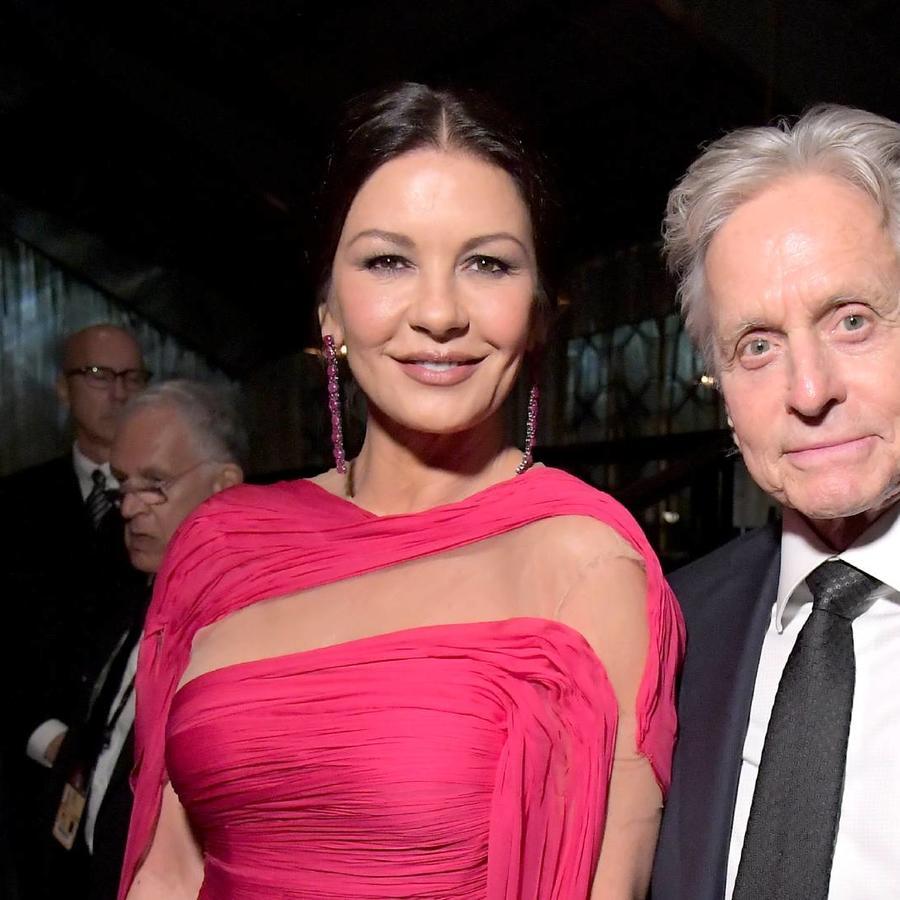 Catherine Zeta-Jones y Michael Douglas Los Ángeles 2019