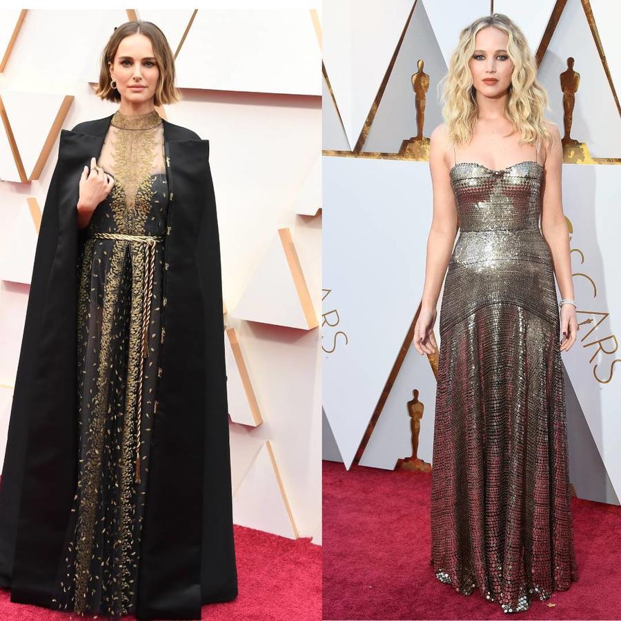 Christian Bale, Natalie Portman, Jennifer Lawrence