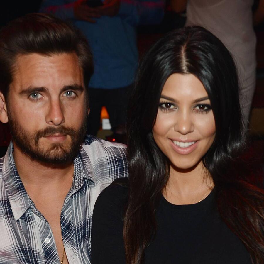 Scott Disick y Kourtney Kardashian Las Vegas 2015