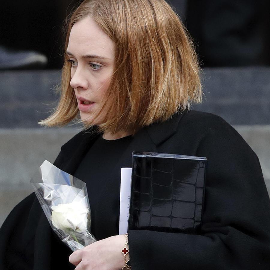 Adele de luto