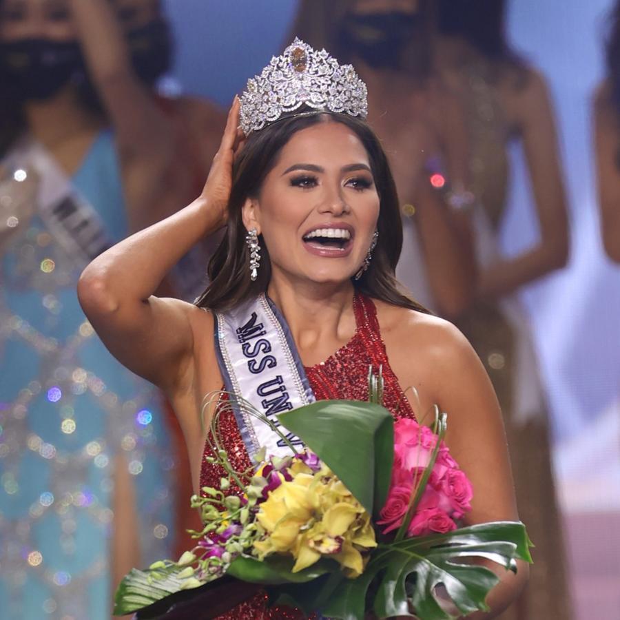 Miss México, Andrea Meza, es ganadora de Miss Universo 2021