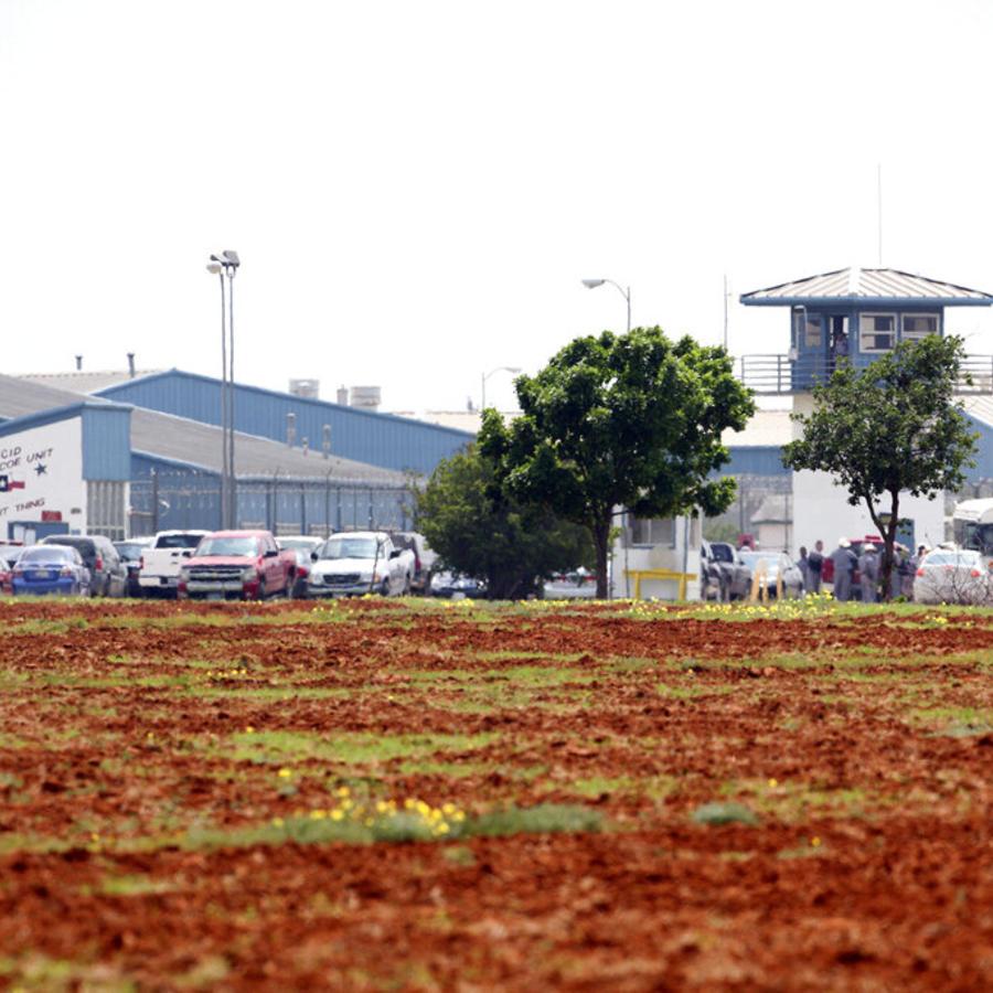 Las instalaciones de la penitenciaria Dolph Briscoe Unit en Dilley, Texas