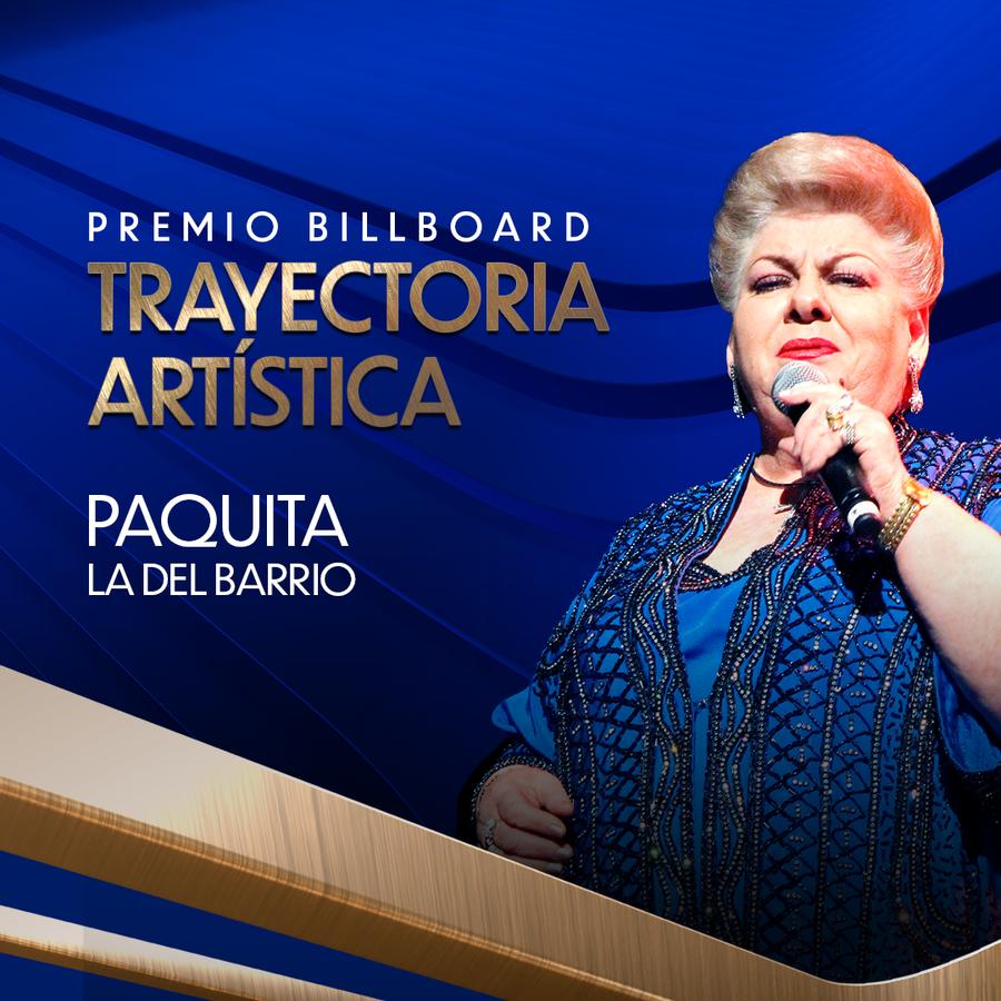 aquita la del Barrio será galardonada con el premio Billboard Trayectoria Artística